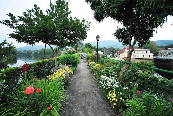 bridge of flowers shelburne massachusetts ma