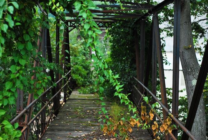 iron walking bridge fitchburg ma